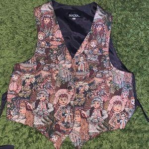 Custom Vintage Bedazzled Vest